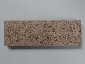 Zócalo Granito Rosado sin Uso 30x10
