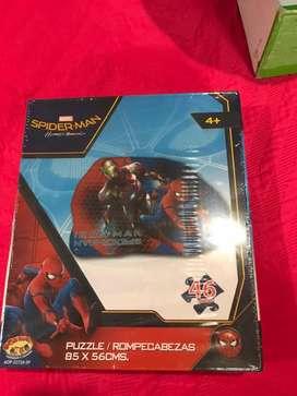 Rompecabezas de spiderman para Niños, nuevo