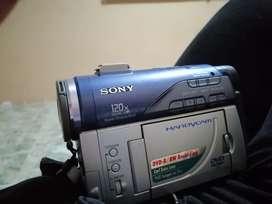 Se vende filmadora marca sony de CD  handycam 120 x