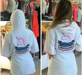 Salidas de baño para damas tipo unicornio