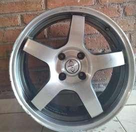 Llantas estrella con neumáticos R17