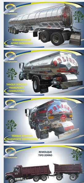 Tanque para el trasporte de agua potable