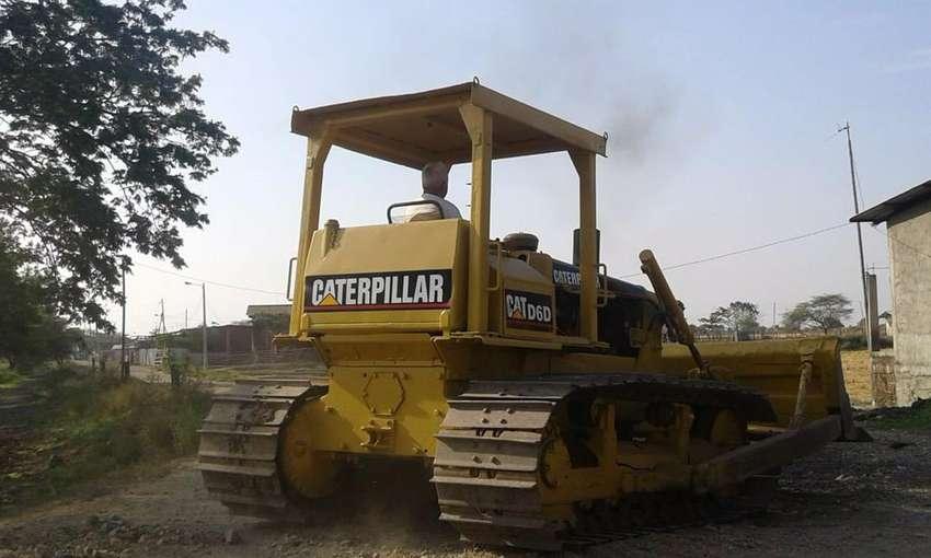 Vendo tractor D6D Caterpilar