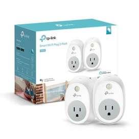 Smart Wi-fi Plug 2pack De Tp-link Controle Sus Dispositivos