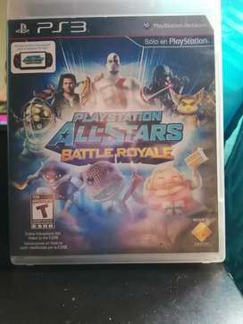 Juego playstation All-stars Battle Royale ps3
