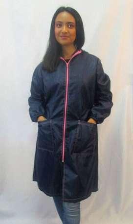 capa o cobertor de proteccion para mujer