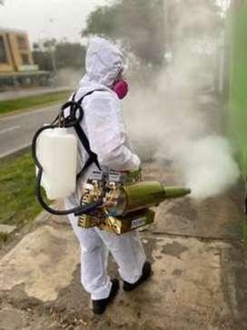 Fumigacion con amonio cuaternario de quinta generacion