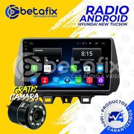 RADIO ANDROID HYUNDAI TUCSON 2020 GPS BT USB WIFI BETAFIX DESDE