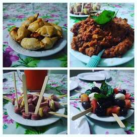 Cocinero italiano para cocina en tu domicilio