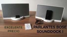 PARLANTES BOSE SOUNDDOCK I