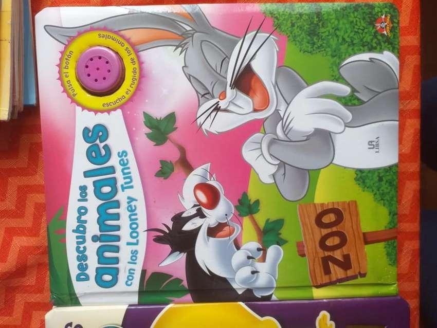 Libro Tapa Dura Looney Tunes Educativo 0