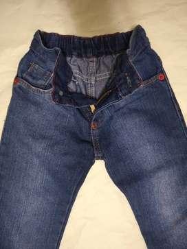 Pantalon Jean Azul 18m Nene Usado 1 Vez Perfecto