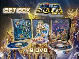 Caballeros del Zodiaco Set Box 19 DVD