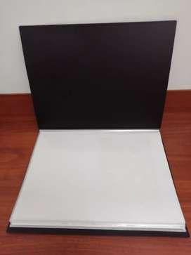 Portafolio Tamaño A3 En Color Blanco Y Negro