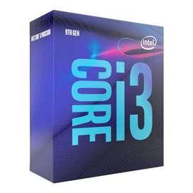 Procesador i3 9100f novena generación