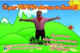 Animación infantil a domicilio en Cordoba capital
