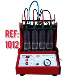 Banco de prueba y lavado ultrasonido de inyectores