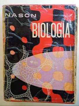 Biología. 1ra Ed. Nason. Libro En Buen Estado