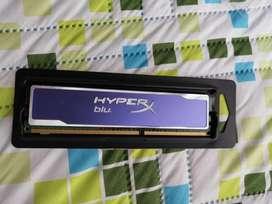 Memoria Ram 4 Gb Ddr3 1600mhz Kingston Hyperx