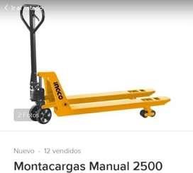 Montacargas manual