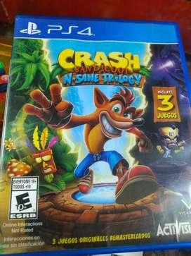 Crash bandicoot PS4 perfecto