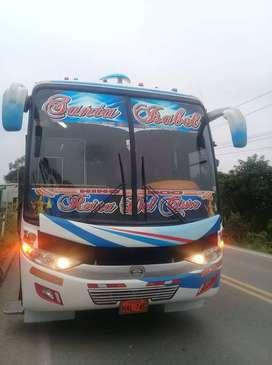 Se vende bus con acciones y derechos en la cia santa isabel