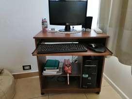 Mesa PC con espacio para Impresora
