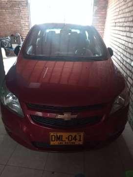 Vendo Chevrolet Sail LT 2015,rojo Velvet.t