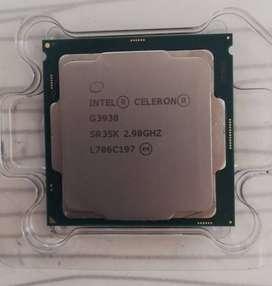 Procesador Intel Celeron G3930 2,90 Ghz Kabylake 2m (1151)