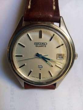 Reloj Pulsera Seiko Quartz Caballero Impecable