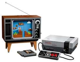 LEGO Nintendo Entertainment System 71374 Kit de construcción; juego creativo para adultos, construye