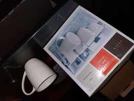 Juego de tazas de porcelana BELIA