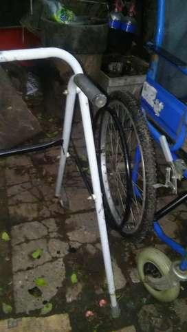 Silla de ruedas muy buenas ruedas