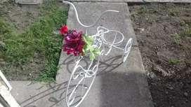 Bicicletas de adornos para jardinería
