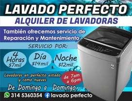 Alquiler de lavadoras excelente servicio oriente de la ciudad