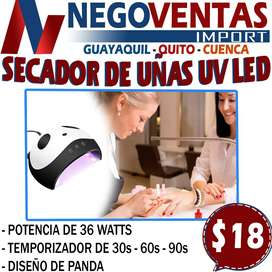 SECADOR DE UÑAS UV LED DISEÑO PANDA EN DESCUENTO EXCLUSIVO DE NEGOVENTAS