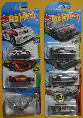 Hot Wheels Lote 6 carros Ediciones Pasadas Nuevos Coleccionables L10