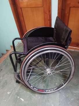 vendo silla de ruedas para jugar basket