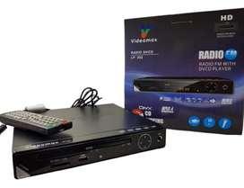 REPRODUCTOS DVD CON CONTROL -RADIO FM- USB Y MP3