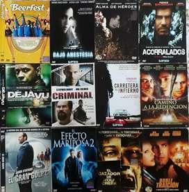 252 Películas originales usadas en DVD