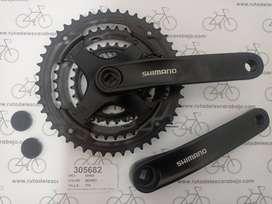 Plato Biela Shimano Ty301 Tourney 48/38/28 Triplato Bicicleta