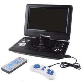 Envio Gratis Reproductor De DVD Portátil 9 Pulgadas TDT USB Y SD Tv FM