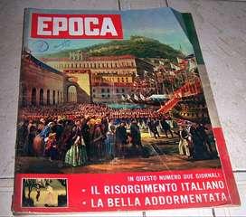 REVISTA EPOCA ITALIANA AÑO 1959