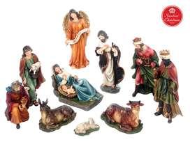 Pesebre Navidad x10 Medida:20 cm Marca: Santini
