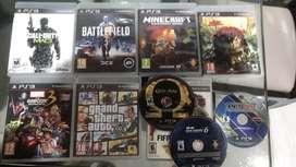 Juegos PS3 excelente estado