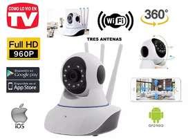Camara seguridad wifi robótica