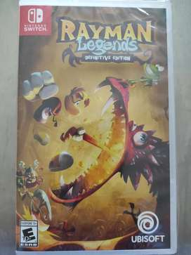 Videojuego Rayman Legends Definitive Edition Nintendo Switch