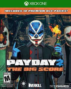 payday 2 big score xbox one