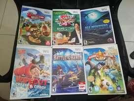 Juegos Wii 10 mil Cambio o Vendo nintendo