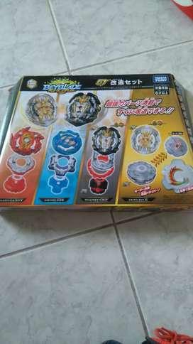 Beyblade Burst Gatinko (Gt) Customize Set Prime Apocalipsis y Regalía Yenesis Takara Tomy